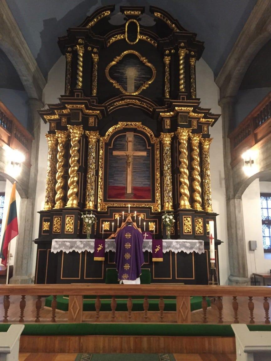 Lietuvos gimtadienis mūsų bažnyčioje
