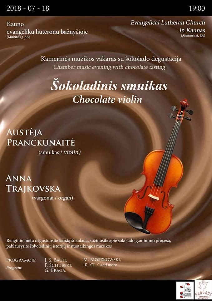 Šokoladinis smuikas